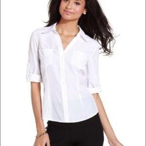 BCX Roll Tab Sleeve Shirt